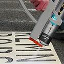 Floor marking accessories